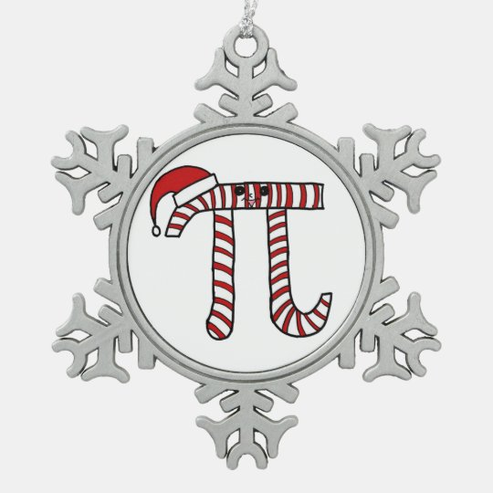 Christmas Pi Math Ornament
