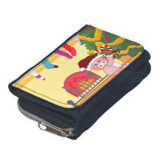 Christmas Pig Wallet