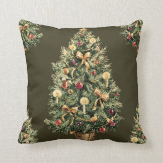 Christmas pillow (Dark green)