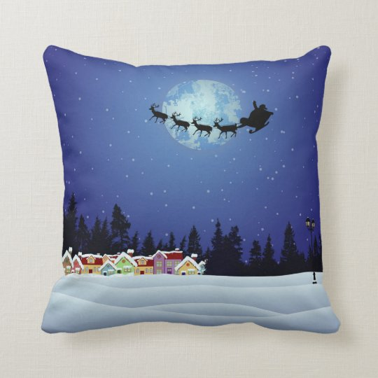Christmas pillow Throw Cushions