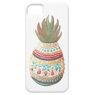 Christmas Pineapple Iphone case White