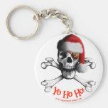 Christmas Pirate Keychain