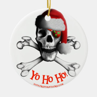 Christmas Pirate Ornament
