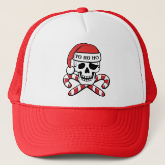 Christmas Pirate Trucker Hat