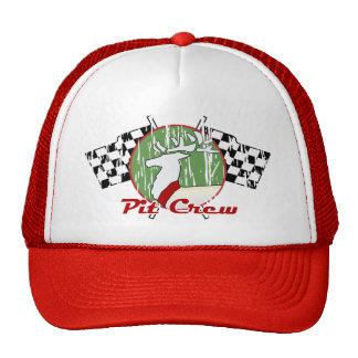 Christmas Pit Crew Mesh Hat