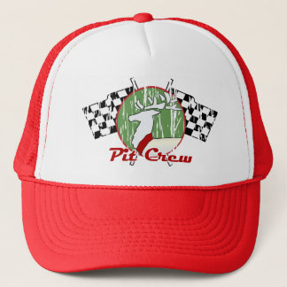 Christmas Pit Crew Trucker Hat