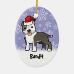 Christmas Pitbull / American Staffordshire Terrier