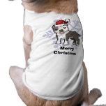 Christmas Pitbull / American Staffordshire Terrier Dog Clothing