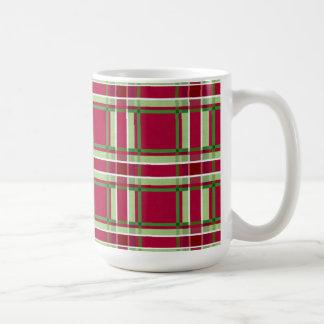 Christmas Plaid Coffee Mug