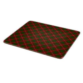 Christmas Plaid Cutting Board