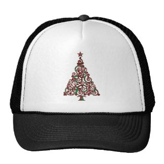 Christmas Plaid Tree Cap