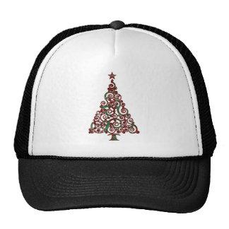 Christmas Plaid Tree Hats