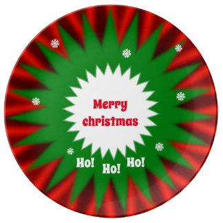 Christmas Platter Plate