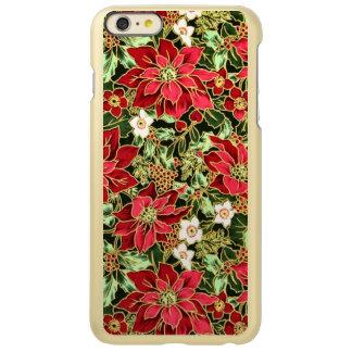 Christmas Poinsetta iPhone 6 Plus Incipio case iPhone 6 Plus Case