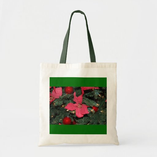 Christmas Poinsettia Bags