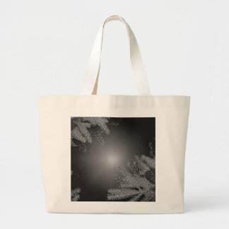 Christmas Poinsettia Black And Grey IV Tote Bag