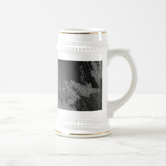 Christmas Poinsettia Black And Grey IV Beer Steins