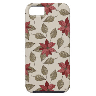 Christmas Poinsettia Phone Case iPhone 5 Covers