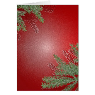 Christmas Poinsettia Red Greeting Cards