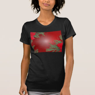 Christmas Poinsettia Red Shirt