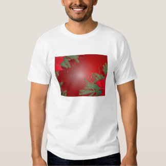 Christmas Poinsettia Red Shirts