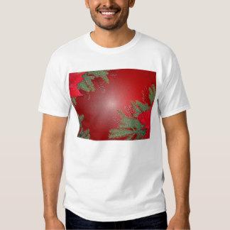 Christmas Poinsettia Red Tshirts