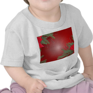Christmas Poinsettia Red VI T Shirt
