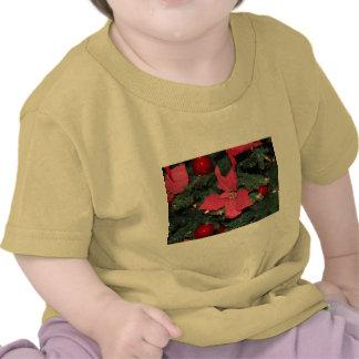 Christmas Poinsettia T Shirt