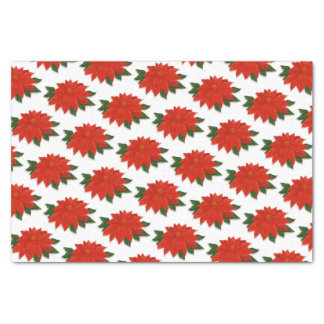 Christmas Poinsettia Tissue Paper