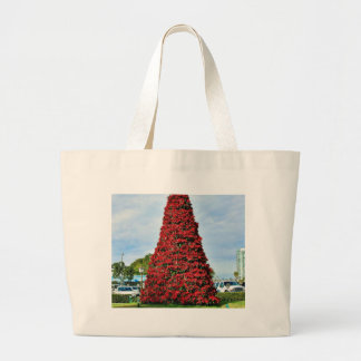 Christmas Poinsettia Tree In San Diego Bags
