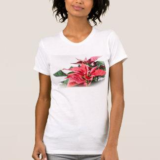 Christmas Poinsettia T-shirts
