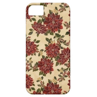 Christmas Poinsettias Case iPhone 5 Cover