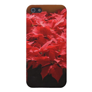 Christmas Poinsettias Case Savvy iPhone 5/5S Case