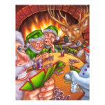 christmas poker flyer