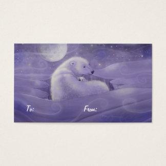 Christmas Polar Bear Gift Tags