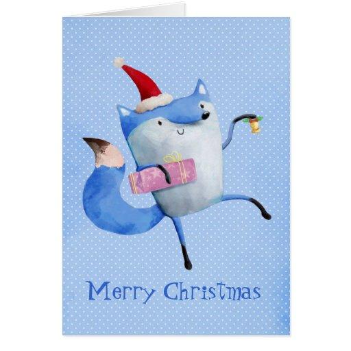 Christmas Polar Fox Cards