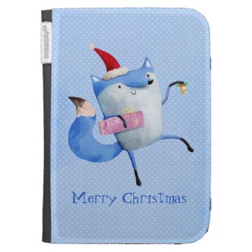 Christmas Polar Fox Case For The Kindle