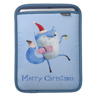 Christmas Polar Fox Sleeve For iPads