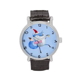 Christmas Polar Fox Wrist Watches