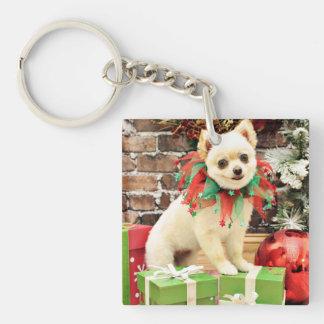 Christmas - Pomeranian - Abby Acrylic Keychains