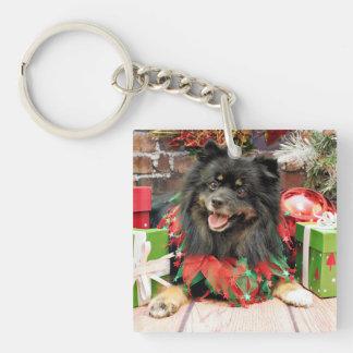 Christmas - Pomeranian - Gucci Acrylic Keychains