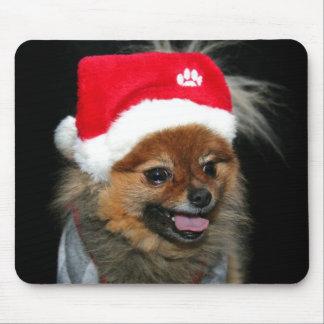 Christmas Pomeranian Mousepad