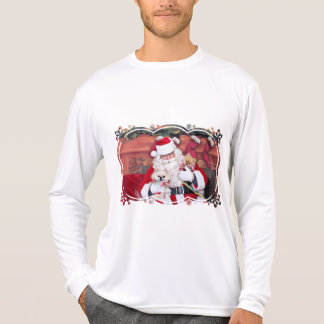 Christmas - Pomeranian - Toby & Andy T-shirts