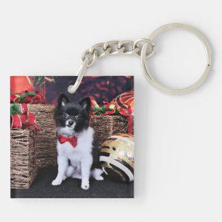 Christmas - Pomeranian - Willy Key Chains
