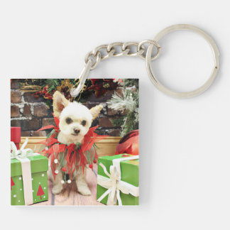 Christmas - Pomeranian X - Daisy Acrylic Keychains
