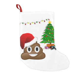 christmas poo emoji xmas stocking