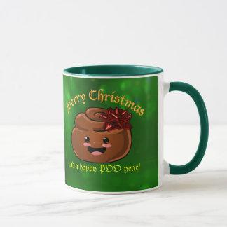 Christmas Poo Mug