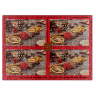 Christmas Potpourri Decorative Cutting Board