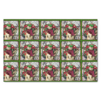 Christmas Prairie dog tissue paper