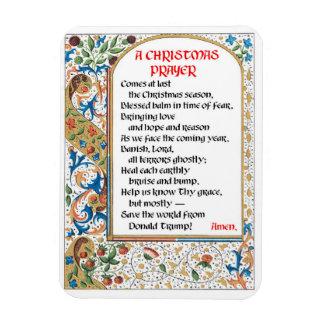 Christmas Prayer (Donald Trump) Magnet #1